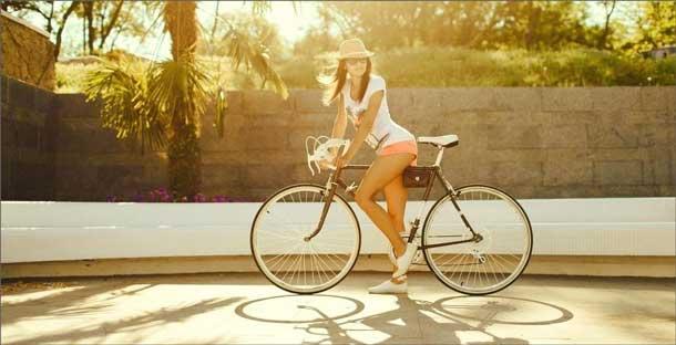 Можно ли убрать живот просто катаясь на велосипеде?