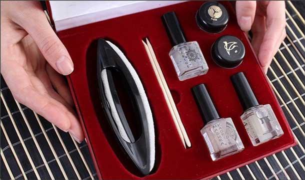 Восстановление ногтей по японский технологии маникюра