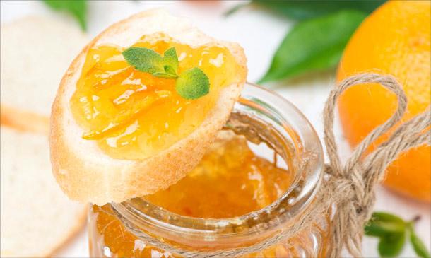 Топ 3 лучших рецепта апельсинового конфитюра с миндалем, лимоном и орехом