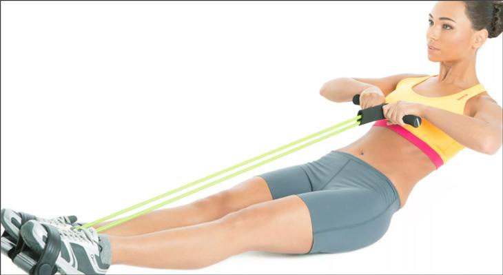 Лучшие упражнения с пружинным эспандером для дома и зала