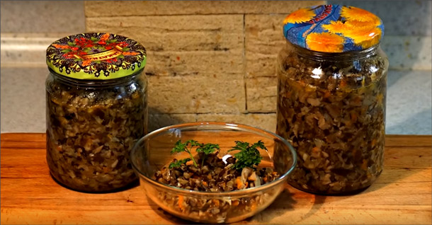 ТОП-6 обалденных рецептов грибной икры на зиму