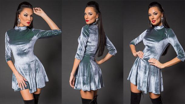 Бархатные платья снова в моде: как подобрать подходящий фасон и с чем сочетать?