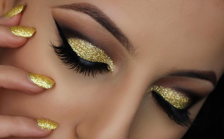 Глиттеры для век: все об особенностях макияжа
