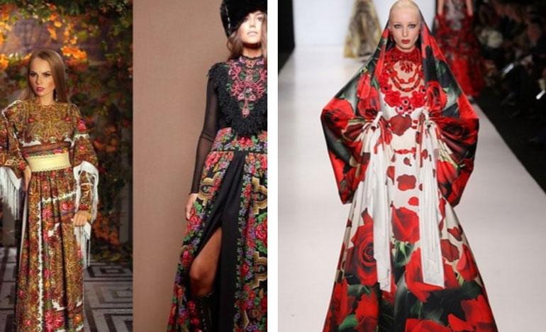 Как создать актуальный образ в русском стиле: модные тенденции в одежде 2018-2020