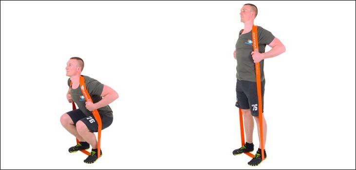 Топ лучших упражнений с резиновым жгутом для тренировки всего тела