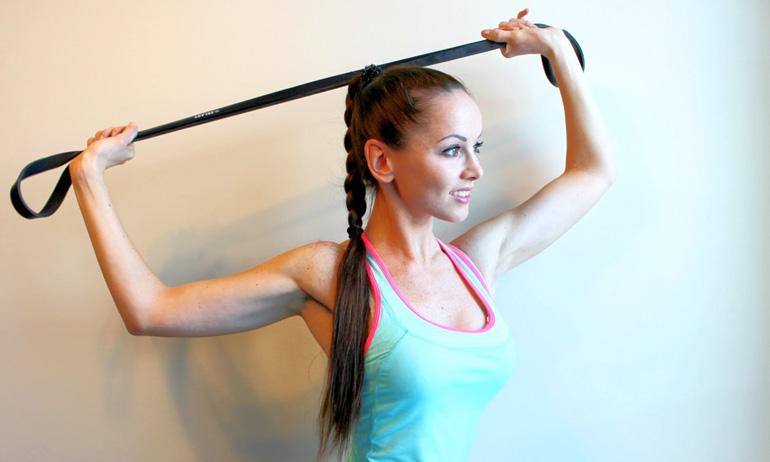 Упражнения с жгутом для позвоночника
