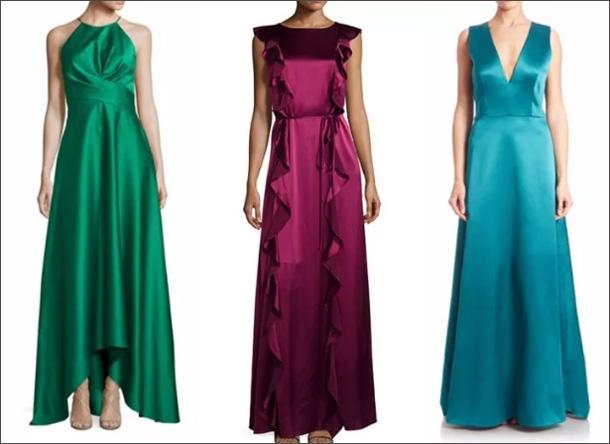 79a2f249fb7 Шелковые платья  модные тенденции 2018
