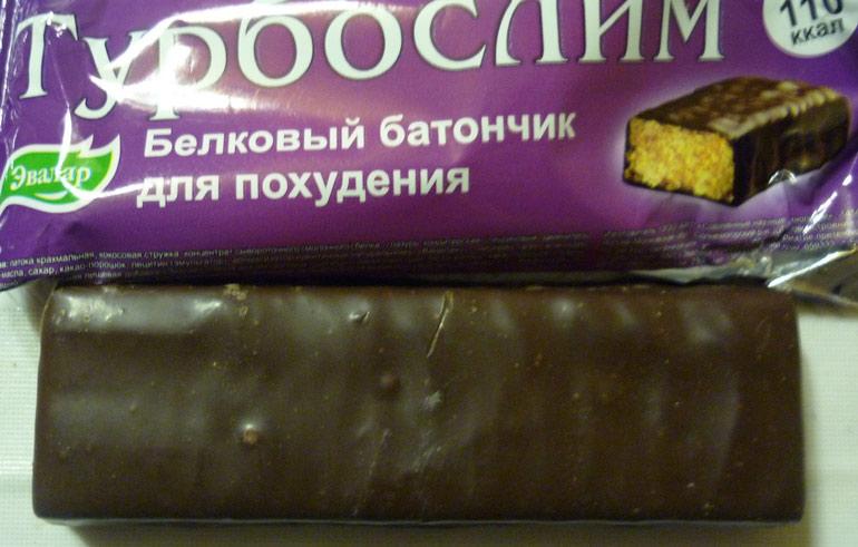 Работают ли вообще белковые шоколадные батончики «Турбослим» и можно ли на них похудеть?