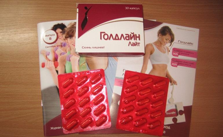 Голд лайт таблетки для похудения